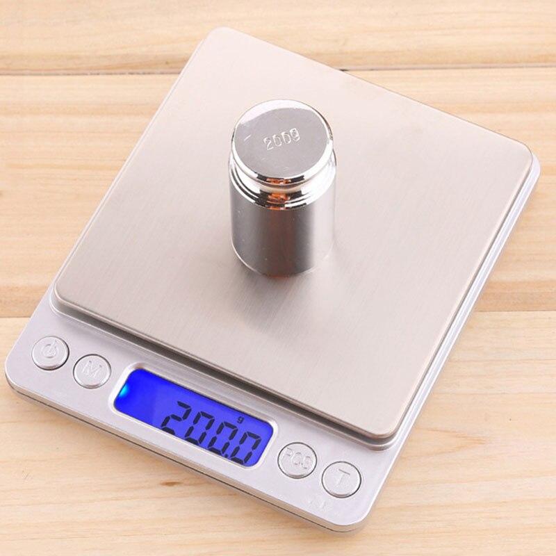 Высокоточные кухонные весы кухонные Карманные электронные весы из нержавеющей стали для взвешивания 0,01 г Электронные Кухонные цифровые ве...