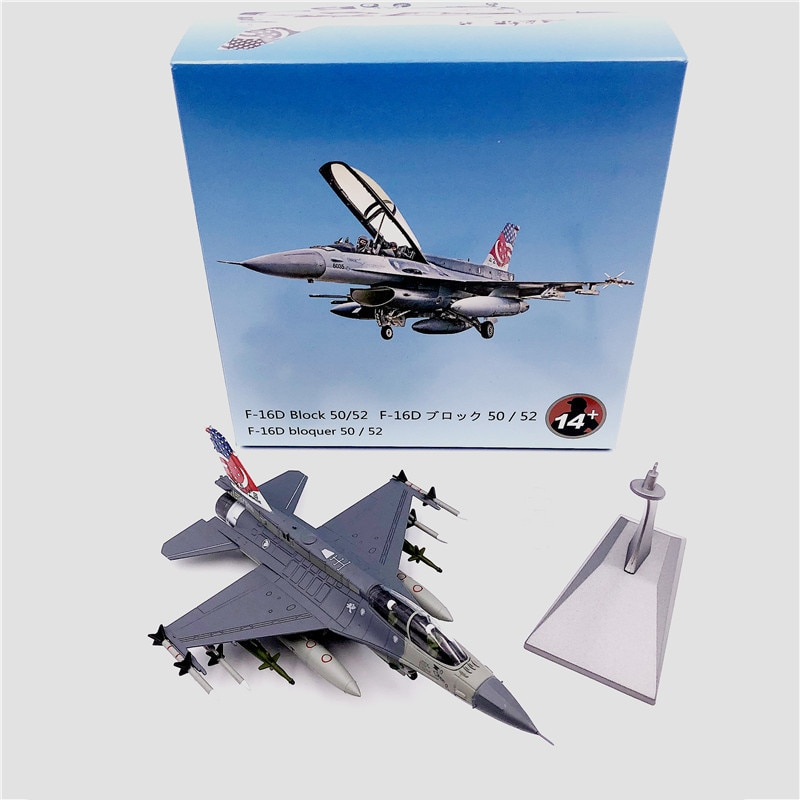 купить 1:72 1/72 Scale Singapore Air Force F-16D BLOCK 52 Fighter Diecast Metal Airplane Plane Aircraft Model Toy в интернет-магазине
