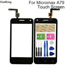 Mobile Phone Touch Screen Front Glass For Micromax Bolt A79 Micromax A79 Touch Panel Glass Digitizer