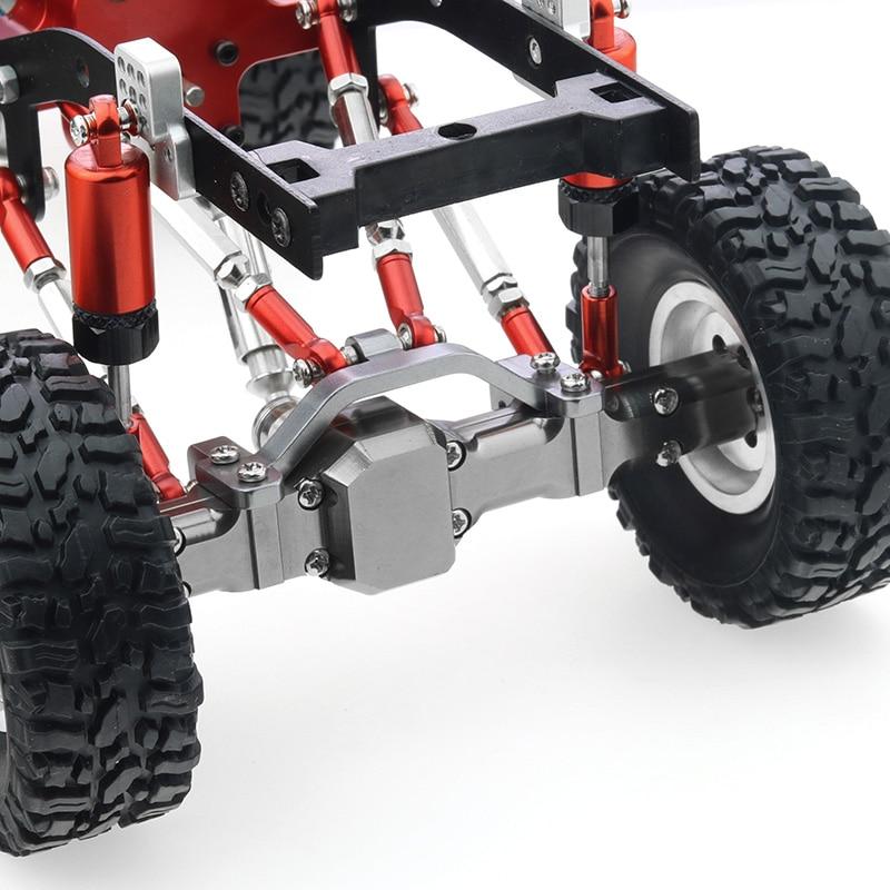 Upgrade Metal Pull Link Rod Base Bracket WPL B1 B14 B24 C14 C24 1/16 enlarge