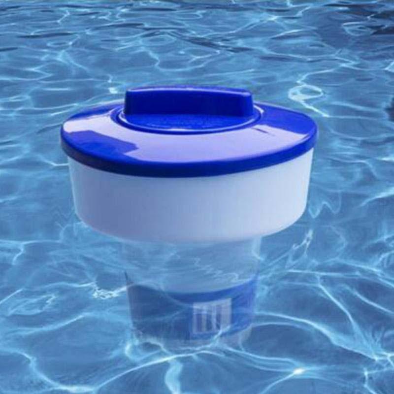 Piscina Spa 5/8 pulgadas cloro bromina química Tablet Tab Floater Dispenser para piscina