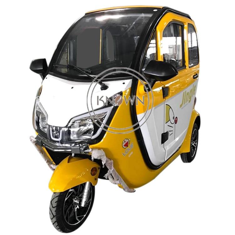 Продвижение продаж COC взрослый Электрический грузовой трицикл EEC 3 колесный подвижный скутер для взрослых самосвал рикша открытый скутер с кабиной
