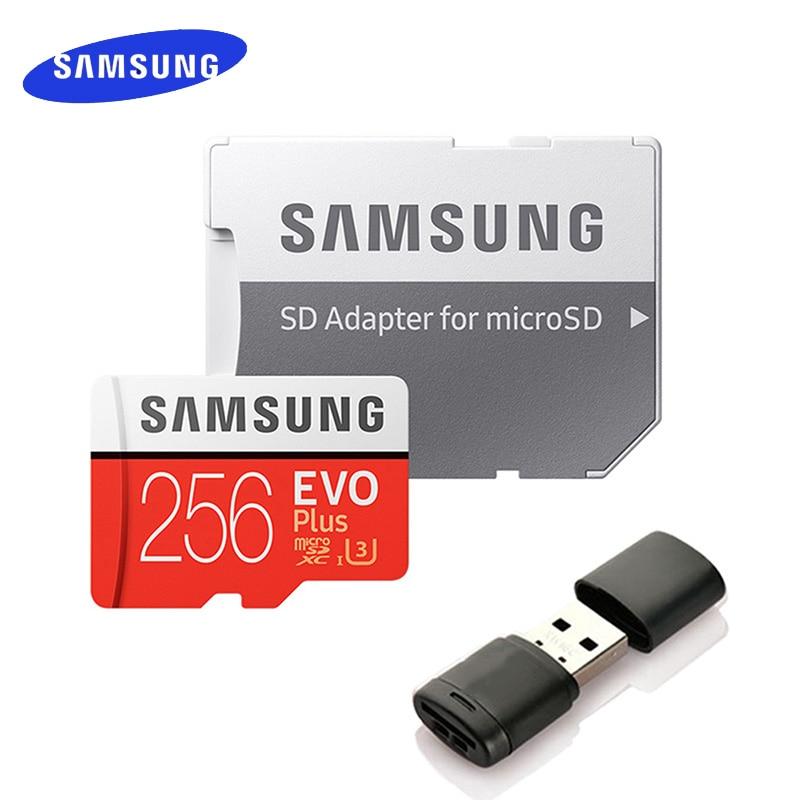 SAMSUNG EVO Plus Micro SD Card 128GB 64GB 32GB 512GB 256GB Micro SD 128gb Flash Memory Card SD Memory U1 U3 4K Microsd TF Cards