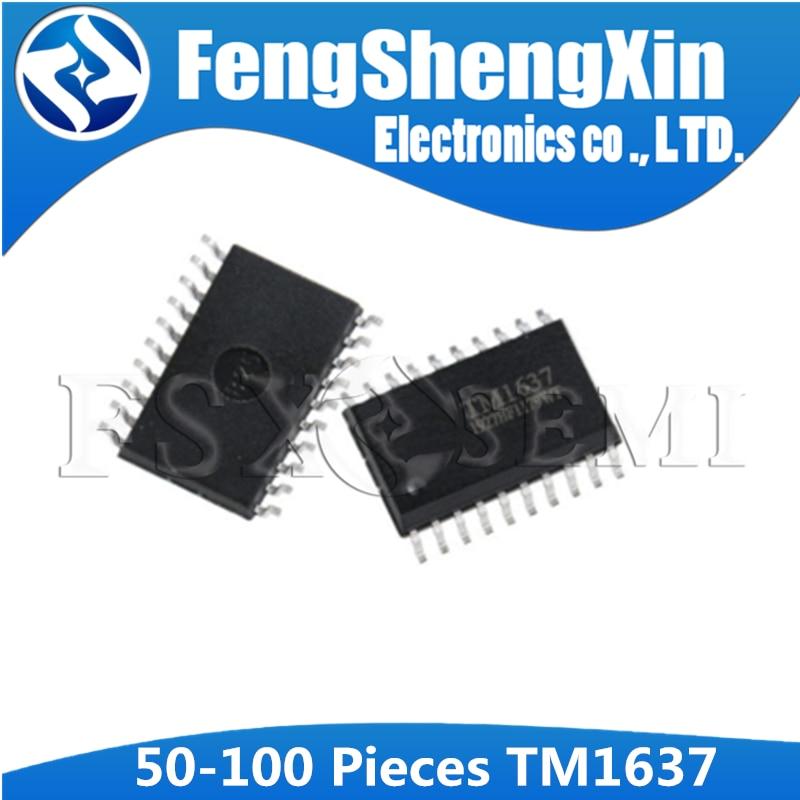 (50-100) шт. TM1637 лапками углублением SOP-20 1637 SOP SOP20 интегральная микросхема IC Светодиодный драйвер цифровой трубки чип
