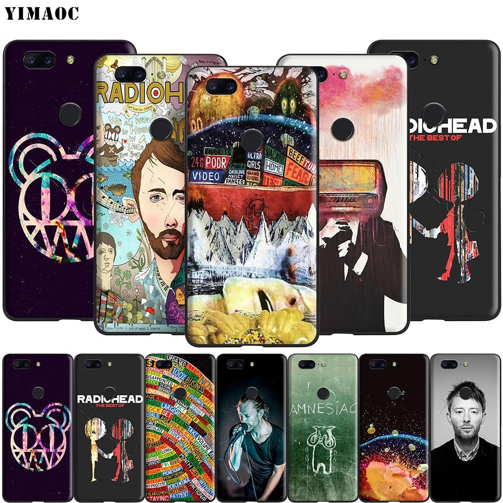 Yimaoc Radiohead Thom Yorke funda de silicona para Oneplus 7T Pro 6t 6 5t 5