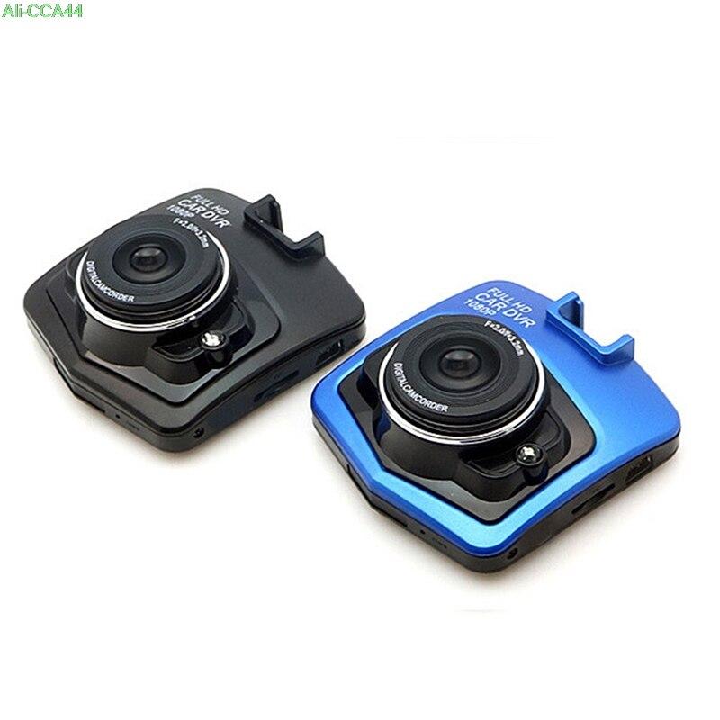 1 шт. 2 Цвета мини 2,4 дюймов ЖК-дисплей Видеорегистраторы для автомобилей видеокамера Full 1080P HD парковка Регистраторы G-sensor видео Камера Dash Cam
