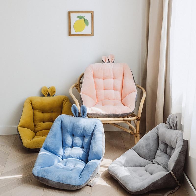 لطيف عودة الوسائد أفخم مخدة كرسي الطفل مقعد أريكة حصيرة ارضيات داخلية هدية مريحة الظهر كرسي داعم للفقرات القطنية مكتب غرفة نوم
