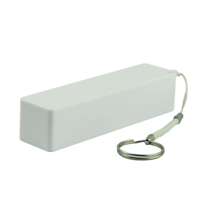 Chargeur de batterie de secours externe Portable 18650, avec porte-clés, 18650
