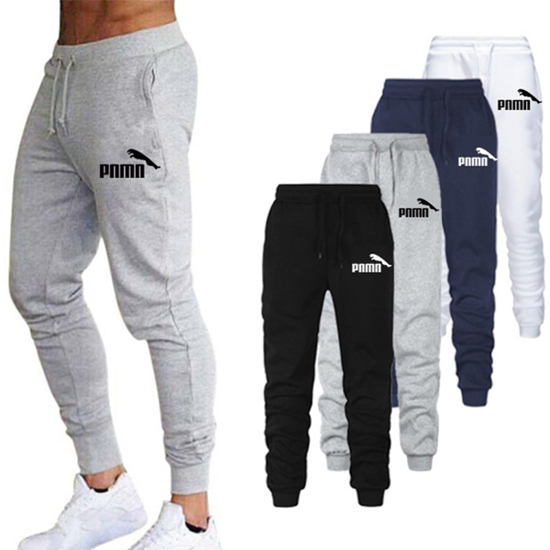 2021 new sports fashion pants, plus size pants, fitness running pants, men's pants