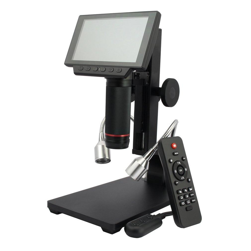 ADSM302 5 Inch Screen Digital LCD HDMI Microscope 3MP Video Recording Magnifier for PCB Mobile Phone Repair Soldering