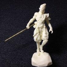 Белый цвет Огненная обезьяна статуя короля Sun Wukong китайский стиль подарок кукла резьба украшение дома аксессуары ремесло Модель 16 см