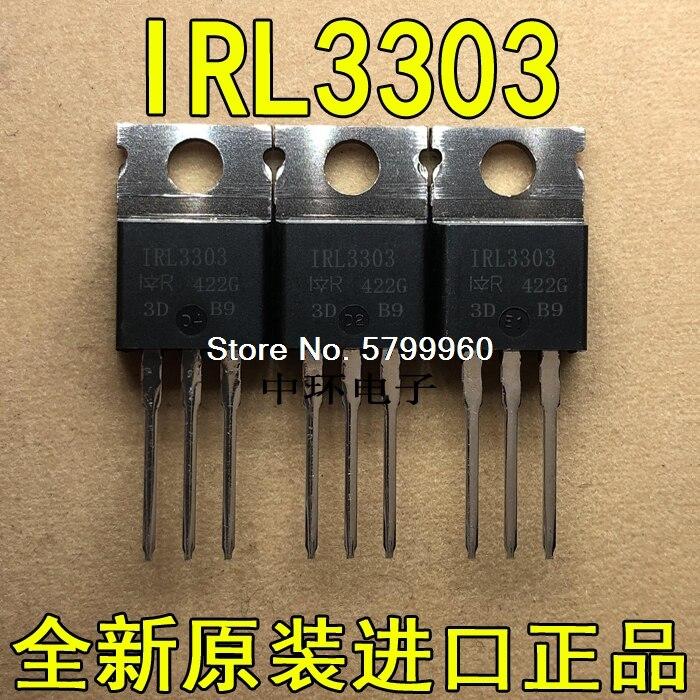 10 pcs/lot IRL3303 transistor