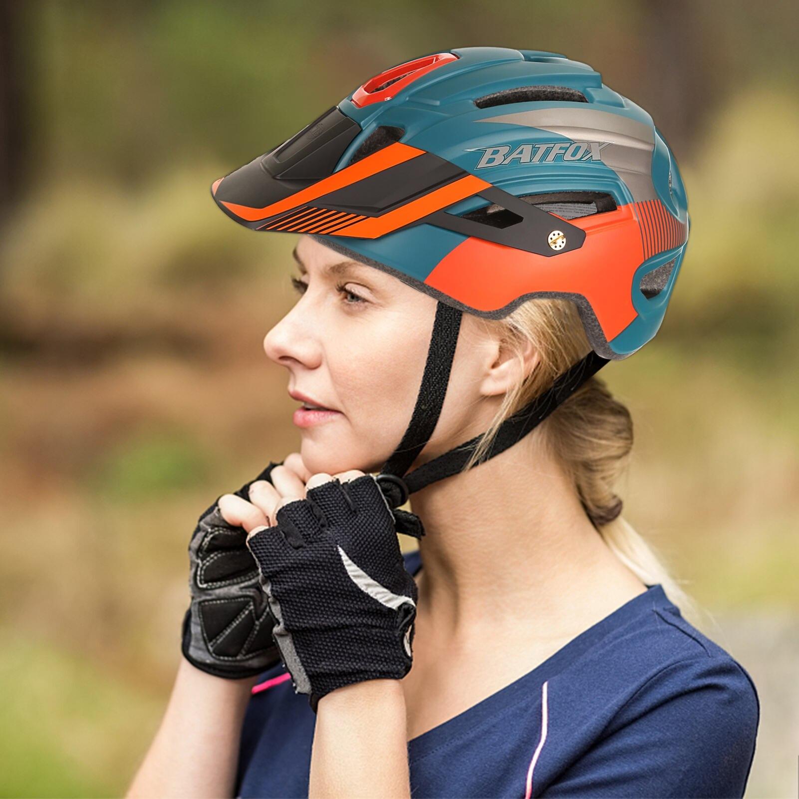 Casco ligero para ciclismo de montaña para hombre y mujer, accesorio de...
