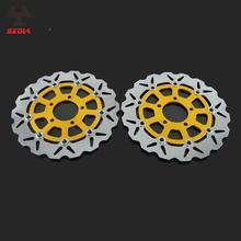 Disque Rotor de frein flottant pour moto   Pour SUZUKI GSXF600 SV650 S650 GSXF750 GSF BANDIT 650 GSXF 600 750