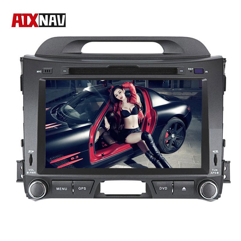 Car Multimedia Player Autoradio Bluetooth Head Unit Parktronic for KIA Sportage 2010-2014 Car GPS Navigation System Radio 2 Din