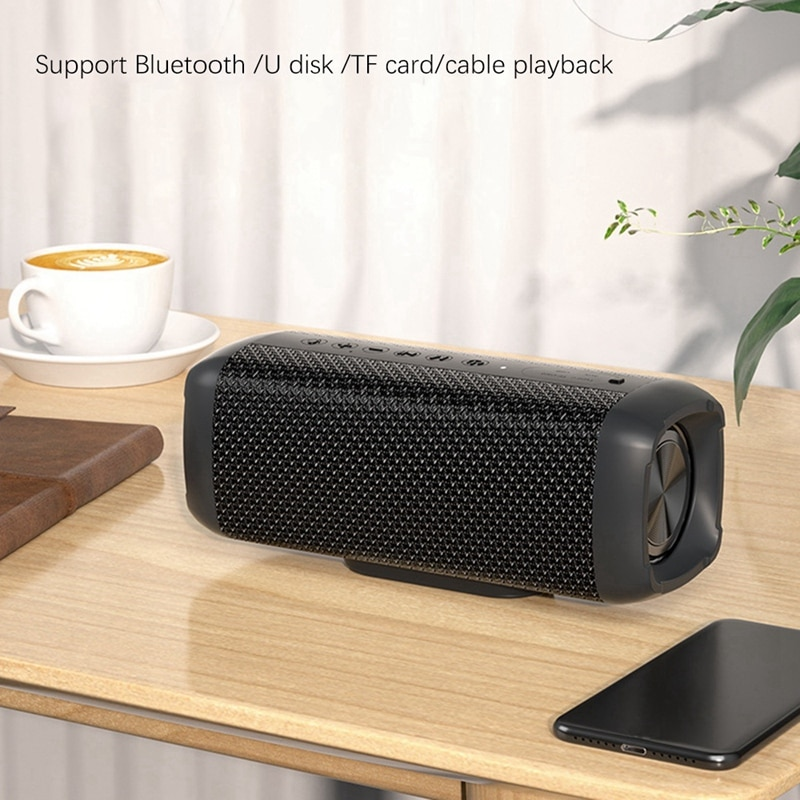 V10 Portable Bluetooth Speaker 80W High Power Wireless Bass Waterproof Subwoofer TWS Audio AUX TF USB Stereo enlarge