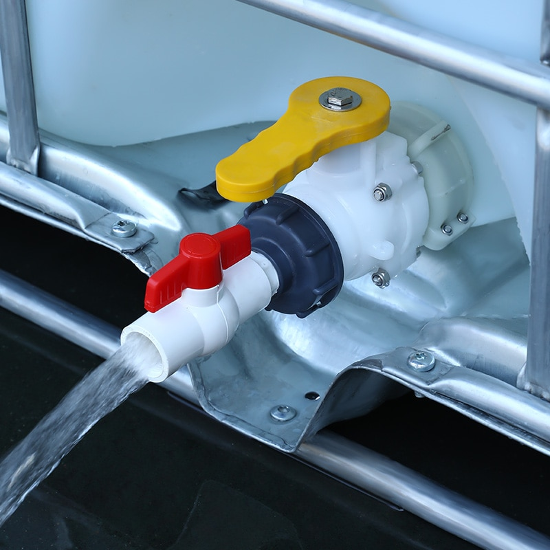 Rosca gruesa S60 * 6 A 1/2 3/4 1 1,2 1,5 , accesorios de manguera ibc, adaptador de tanque de agua con conector de interruptor