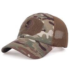 Mode hip-hop hommes casquette de baseball tactique armée casquettes Sport de plein air casquettes militaires Camouflage chapeau coton sauvage soleil chapeaux chapeau
