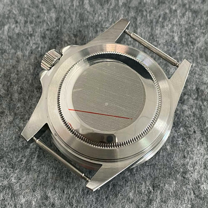 Stainless Steel diving Watch Case Fit NH35 NH36 Movement Water 200m Resistance Case for Seiko SKX007 SKX009 SUB Submariner enlarge