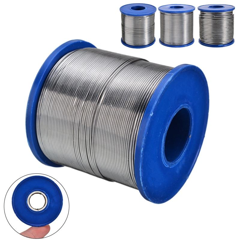 1 pièces 0.7mm 0.8mm 2mm 500g étain plomb colophane noyau fil de soudure 2% Flux bobine ligne de soudage pour soudeur soudure réparation outil