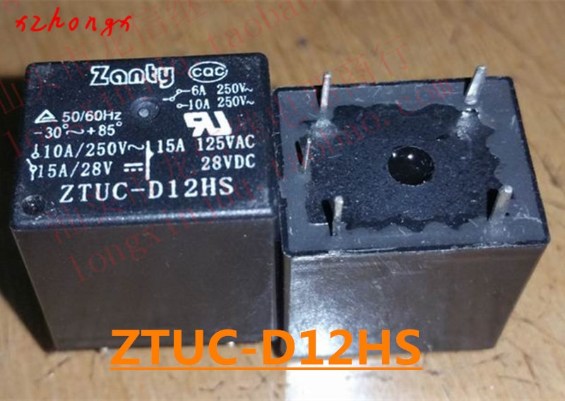 relay ZTUC-D12HS 22F-1C-12V (2)