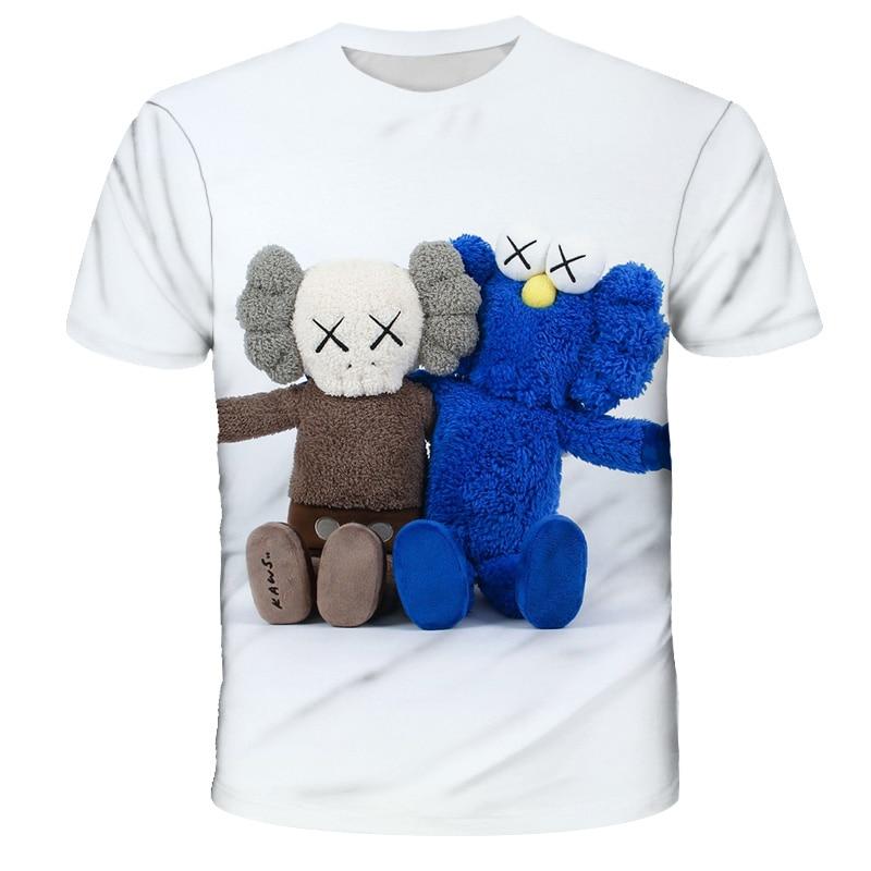 2021, одежда для девочек, детская футболка для подростков, футболки с коротким рукавом в стиле граффити, детская одежда, летняя модная футболк...