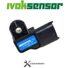 Boost Druk Map Sensor Voor Vauxhall Vectra Signum Zafira Astra Frontera Alfa Romeo 0281002437 93171176 24459853 0 281 002 437
