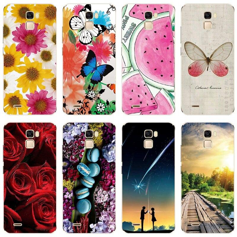 Funda de teléfono de silicona blanda para Oukitel K5000 de 5,7 pulgadas, funda con dibujo de rosas, dibujo animado de flores, adorable funda con dibujos de animales para Oukitel K5000