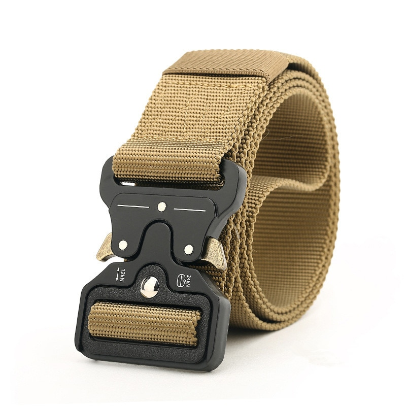 SWAT Military Equipment Knock Off Army Belt Mens Heavy Duty US Soldier Combat Tactical Belts Sturdy 100% Nylon Waistband 4.5cm