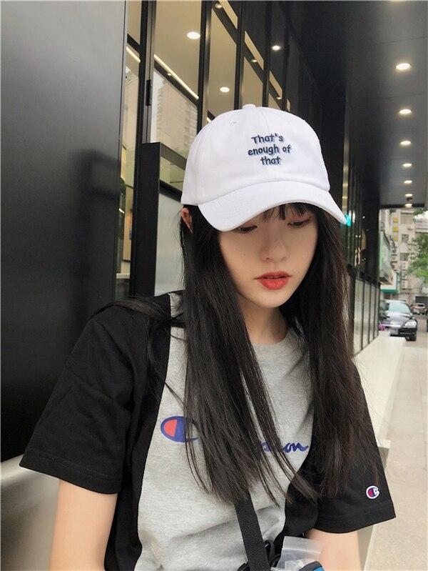 Ding Zouzou/Korean All-Match Simple Lettered Baseball Cap Children Summer Sun Hat Leisure Curved Bri