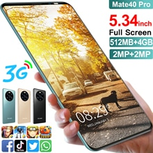 SOYES Mate40 pro Globale Version Handy 5,34 zoll 4Core Full Screen günstige Smartphone 4GB ROM Handy HD + Waterdrop Bildschirm