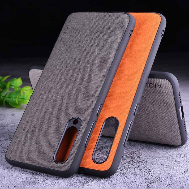 Textile Case for Xiaomi mi9 SE Lite mi9T mi 9 8 9T pro mi8 Mix 2S Max Note 10 3 5 A1 A2 A3 Redmi 6 6