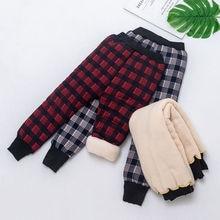 Pantalones cálidos de algodón para bebés de 3 a 9 años de Moda Antigua, pantalones clásicos de terciopelo grueso para niños, leggings cálidos esenciales