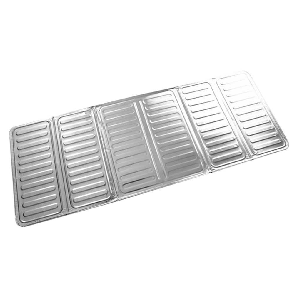 Neuheit 84X 32,5 cm Küche Aluminium Folie Kochen Braten Pan Öl Splash-Screen Abdeckung Anti Splatter Schild Schutz Öl Teiler