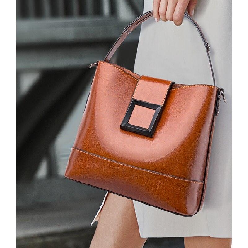 ZOOLER جديد جلد طبيعي حقائب للسيدات لينة جلد البقر حقيبة كتف خمر نمط غير رسمي حقيبة نسائية صغيرة مصممة # SC532