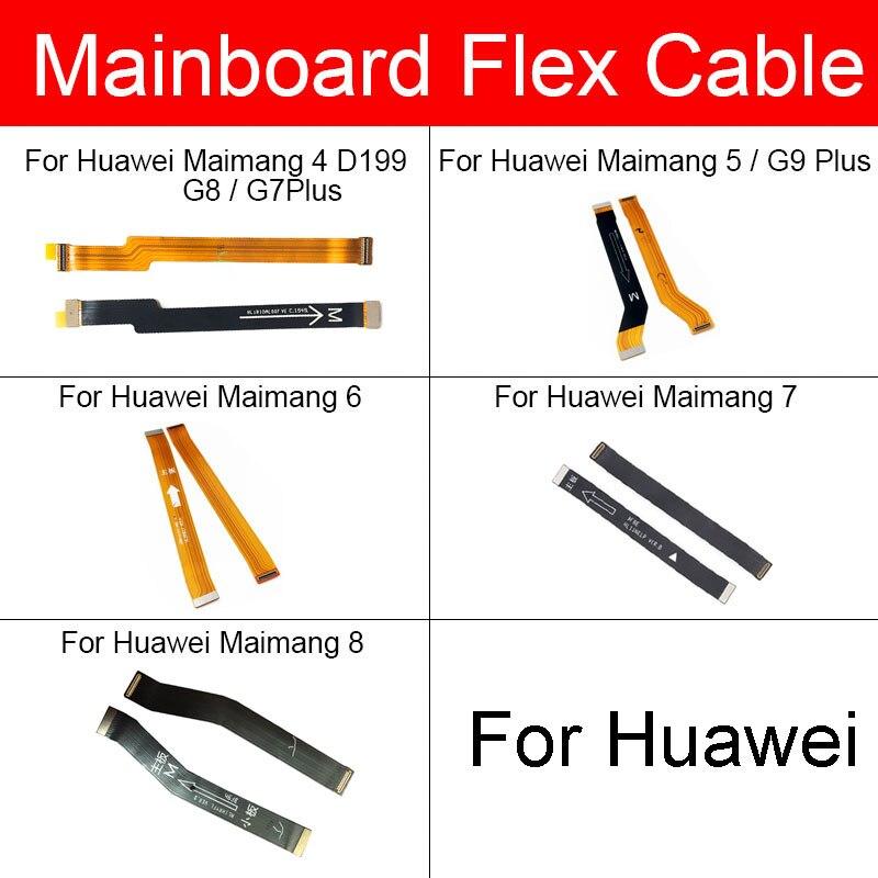 Cabo de fita flexível mainboard para huawei maibang 4 5 6 7 8 g8 g7 g9 plus d199 placa principal placa principal conector peças reposição