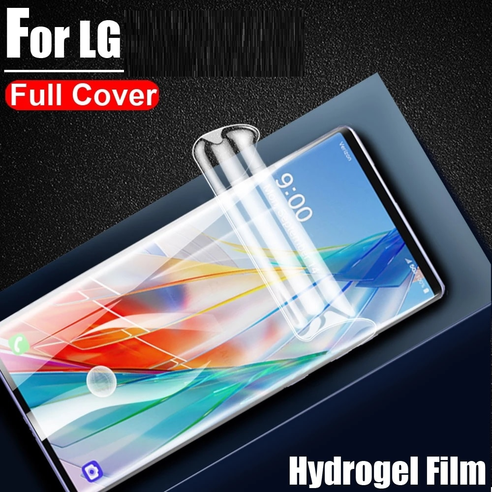 For LG K22 K31 K41S K42 K51 K51S K52 K61 K62 K71 K8X Q51 Q52 Q61 Stylo 6  Screen Protective Hydrogel Film Protector Cover Film
