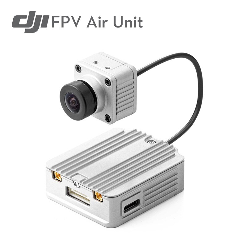 DJI FPV Air Unit Digital 5.8Ghz 1080p/60fps 28ms/4km HD Recording FPV Transmitter Camera Combo for FPV Racing Drone RC Airplane