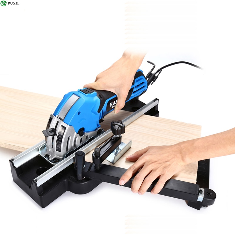 Electric Mini Circular Saw 500W Mini VI with Metal Pulley House Rail Circular Saw Electric Saw enlarge