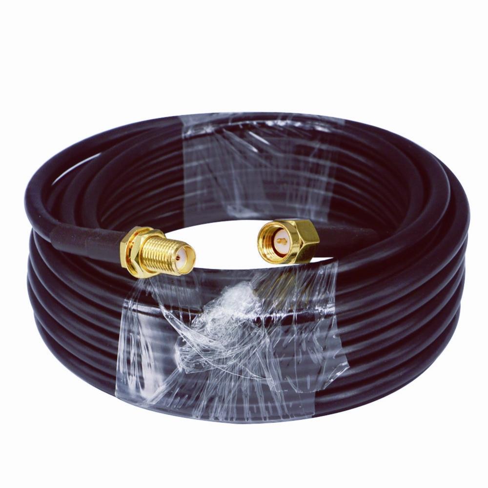 Удлинитель антенный 3g 4g LTE, SMA штекер к SMA Гнездовой антенный Удлинительный соединитель RG58 кабель