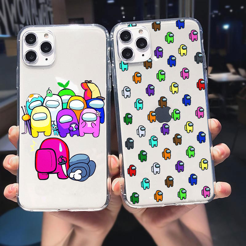 Game Soft silicone TPU Phone Case For iphone 12 Pro Max 11 Pro Max 6S 7 8 Plus SE 2020 X XR XS Max Cartoon  Cover Coque