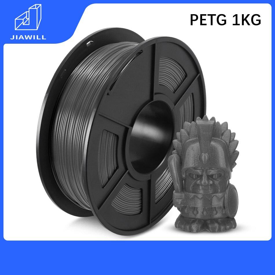 PETG Filament Plastic PLA 1.75mm 1kg 3D Printer Filament 3D Printing Materials High Transparency For Industry