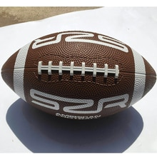 New Imported Rubber Size 9 Brown American Football Non-Slip Wear-Resistant Youth Adult Training Spor