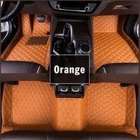 custom car floor mats for ford mustang gt svt 1995 1996 1997 2004 leather waterproof accessories foot cover auto modeling carpet