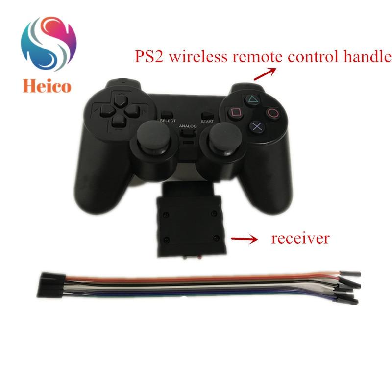 2,4G mando a distancia inalámbrico PS2 con módulo de recepción para coche inteligente manipulador de brazo robot Servo RC juguete