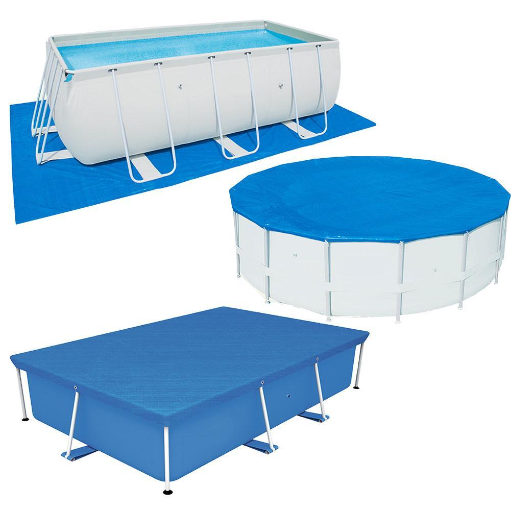 Складная затеняющая ткань для бассейна, устойчивая к ультрафиолетовому излучению тканая ткань, коврик для бассейна, Прочная износостойкая ...
