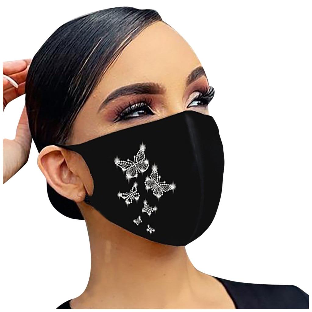 Maskë për maskara kristali zonjat e partisë nxehtë diamanti - Bizhuteri të modës - Foto 2