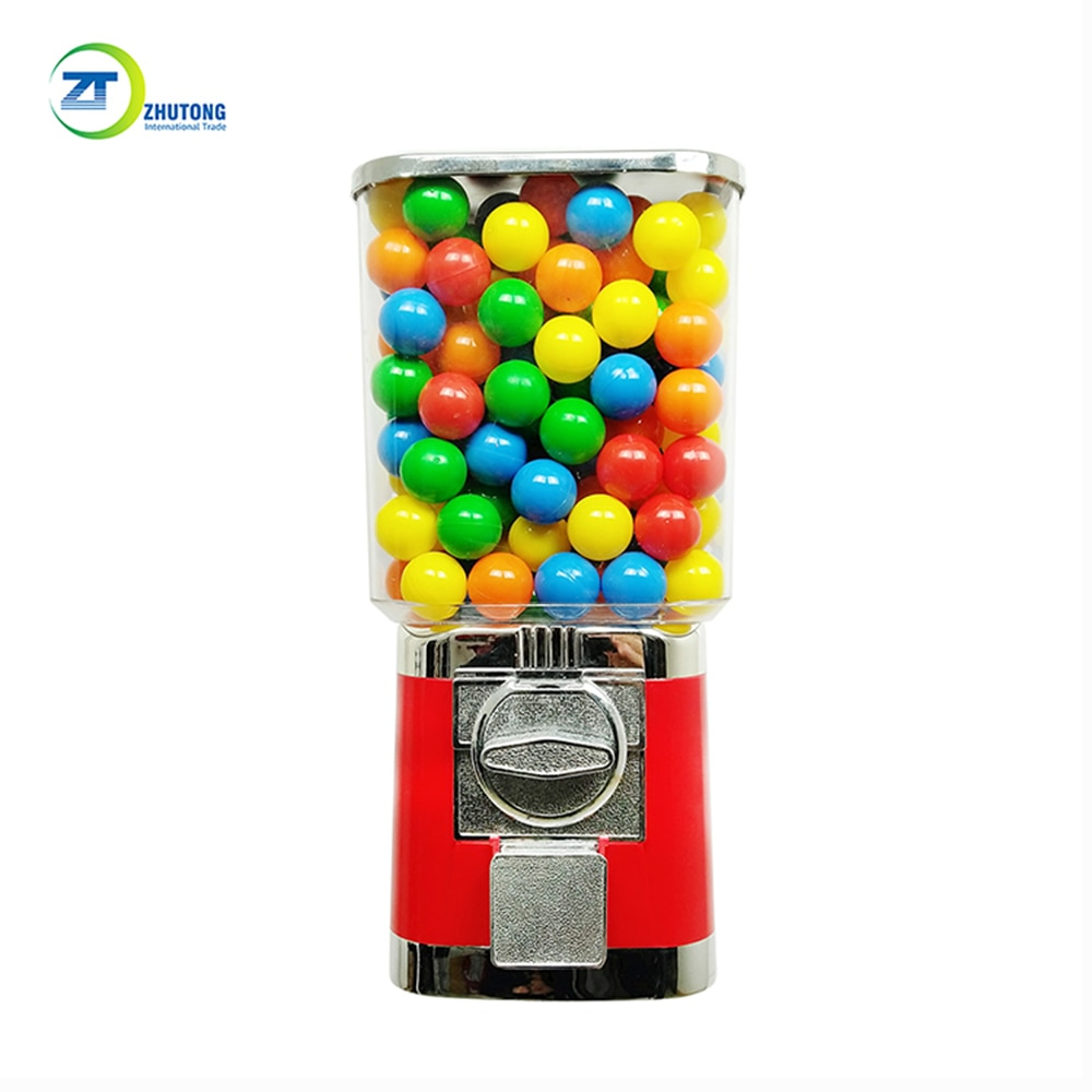 Popular products Zhutong capsule toy rubber ball vending machine candy dispenser vending machine