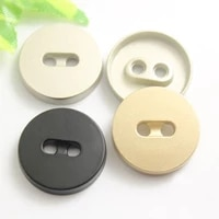 200 pcs metal buttons two eyes high end coat windbreaker suit buttons spot wholesale clothing accessories 18 23mm