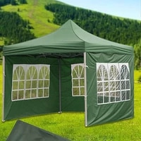 24 styles rainproof portable only side wall canopy waterproof outdoor oxford cloth garden party shade tents
